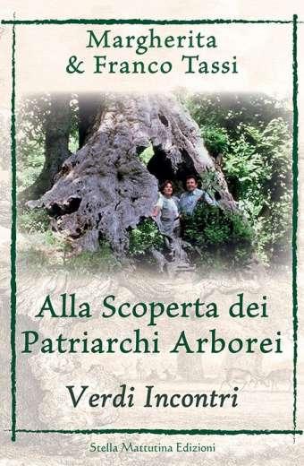 Copertina libro incontri con i patriarchi arborei