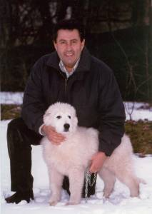 Franco Tassi with the Abruzzese shepherd in defense of the wolf